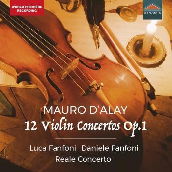 Cover Mauro D'Alay, 12 Violin Concertos Op.1