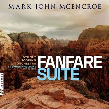 Cover Mark John McEncroe: Fanfare Suite