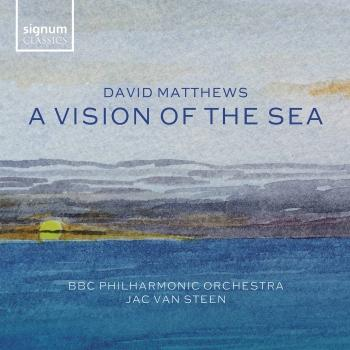 Cover David Matthews: A Vision of the Sea