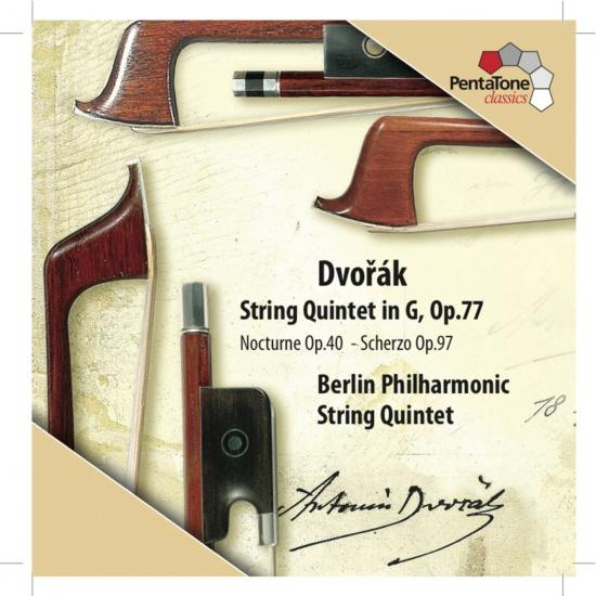 Cover Dvorak: String Quintet in G major, Op. 77