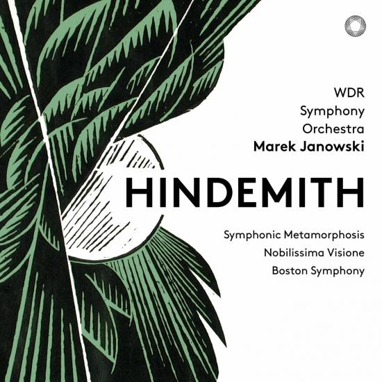 Cover Hindemith: Symphonic Metamorphosis, Nobilissima visione Suite & Konzertmusik