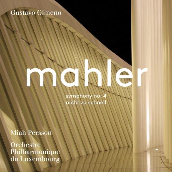 Cover Mahler: Symphony No. 4 in G Major & Piano Quartet in A Minor