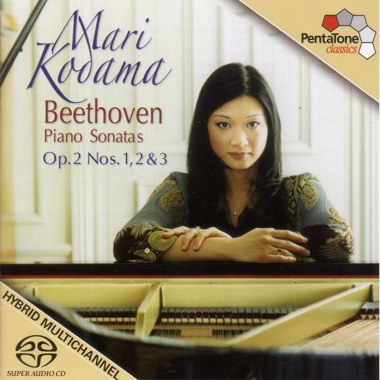 Cover Beethoven: Piano Sonatas Nos. 1-3