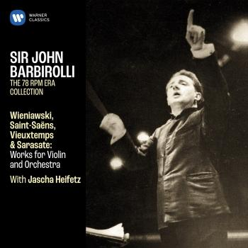 Cover Wieniawski, Saint-Saëns, Vieuxtemps & Sarasate: Works for Violin and Orchestra (Remastered)