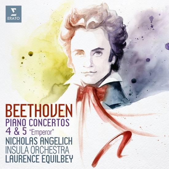 Cover Beethoven: Piano Concertos Nos 4 & 5, 'Emperor' (Live)