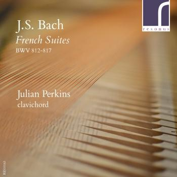 Cover J.S. Bach: French Suites BWV 812-817