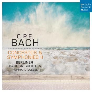 Cover C.P.E. Bach: Concertos & Symphonies II