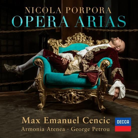 Cover Porpora: Opera Arias