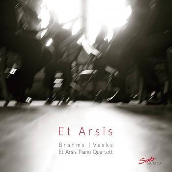 Cover Vasks & Brahms: Piano Quartets