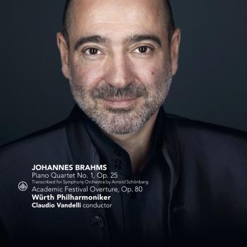 Cover Brahms: Piano Quartet No. 1, Op. 25 / Academic Festival Overture, Op. 80