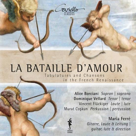 Cover La Bataille D'Amour - Tabulatures & Chansons in the French Renaissance