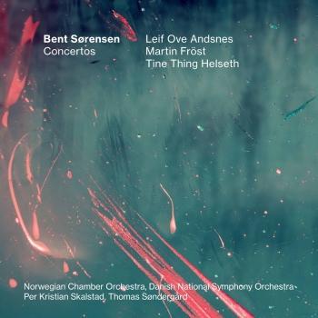 Cover Bent Sørensen: Concertos