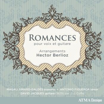 Cover Berlioz: Romances voix et guitare