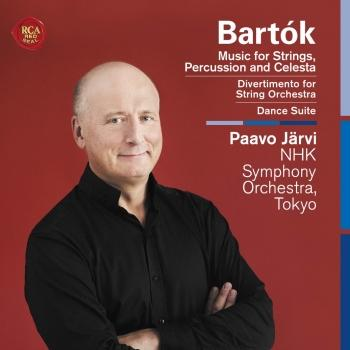 Cover Bartók: Music for Strings, Percussion and Celesta, Divertimento for String Orchestra, Dance Suite