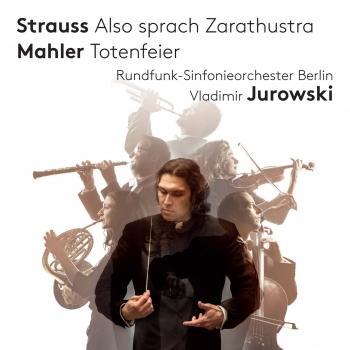 Cover Strauss: Also sprach Zarathustra - Mahler: Totenfeier
