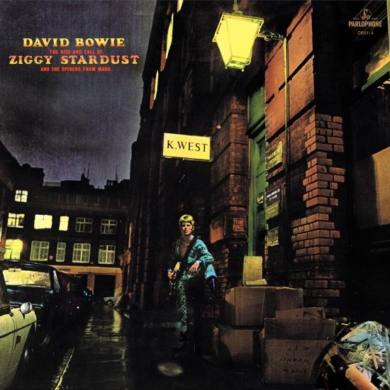 Cover The Rise And Fall Of Ziggy Stardust And The Spiders From Mars (Remastered)