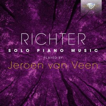Cover Richter: Solo Piano Music played by Jeroen van Veen