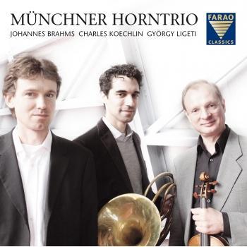Cover Horntrios von Brahms, Ligeti, Koechlin