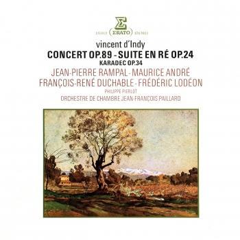 Cover D'Indy: Concert, Op. 89, Suite dans le style ancien, Op. 24 & Karadec, Op. 34 (Remastered)
