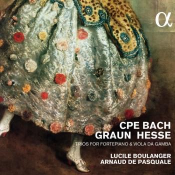 Cover CPE Bach, Graun & Hesse: Trios For Fortepiano & Viola Da Gamba