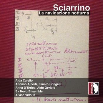 Cover Salvatore Sciarrino: La navigazione notturna