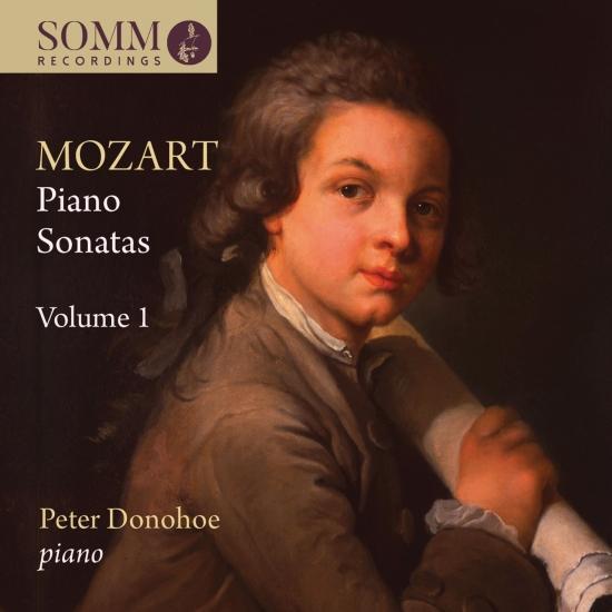 Cover Mozart: Piano Sonatas, Vol. 1