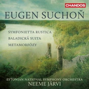 Cover Suchoň: Symfonietta rustica, Baladická suita & Metamorfózy
