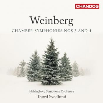 Cover Weinberg: Chamber Symphonies Nos. 3 & 4