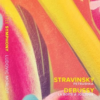Cover Stravinsky: Petrushka - Debussy: La boîte à joujoux, L. 128