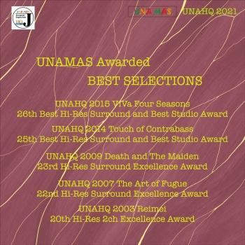 Cover UNAMAS Awarded Best Selections