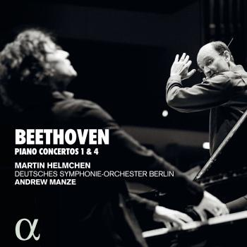 Cover Beethoven: Pianos concertos 1 & 4