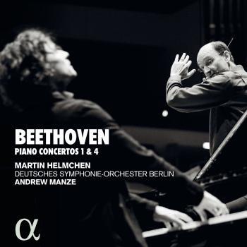 Cover Beethoven: Pianos concertos 1 & 4