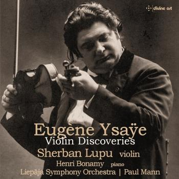 Cover Eugene Ysaye: Violin Discoveries