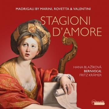 Cover Stagioni d'amore: Madrigali by Marini, Rovetta & Valentini