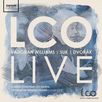 Cover LCO Live: Vaughan Williams, Suk, Dvořák