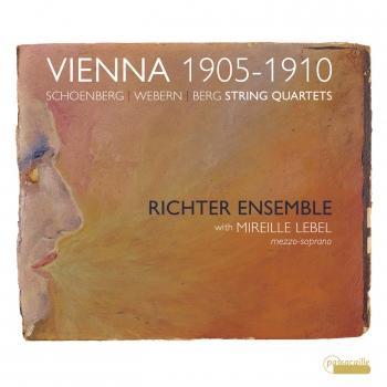 Cover Webern, Schoenberg & Berg: String Quartets