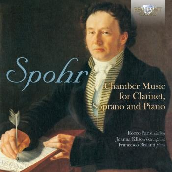Cover Spohr: Chamber Music for Clarinet, Soprano and Piano