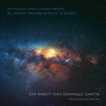 Cover Dominique Lemaître: De l'espace trouver la fin et le milieu