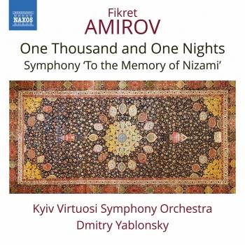 Cover Amirov: One Thousand and One Nights Suite & To the Memory of Nizami