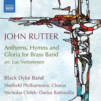 Cover John Rutter: Anthems, Hymns & Gloria for Brass Band