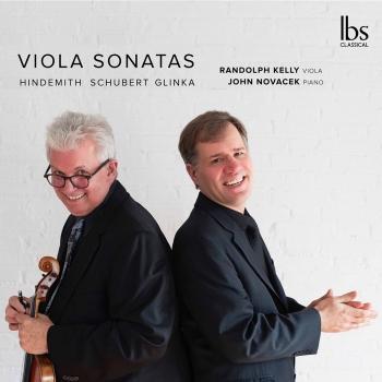 Cover Hindemith, Schubert & Glinka: Viola Sonatas