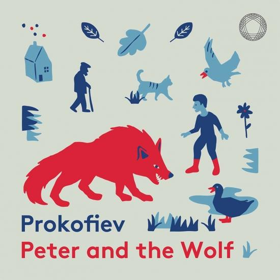 Cover Prokofiev: Peter and the Wolf, Op. 67 (Narrated in English)