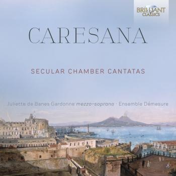 Cover Caresana: Secular Chamber Cantatas