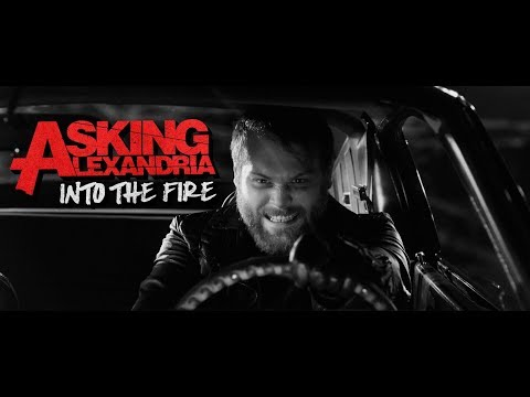 Video ASKING ALEXANDRIA - Into The Fire (Video)