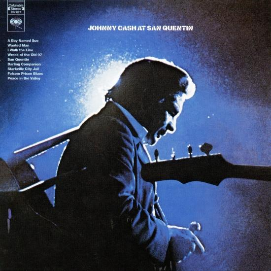 Cover Johnny Cash At San Quentin (Live)