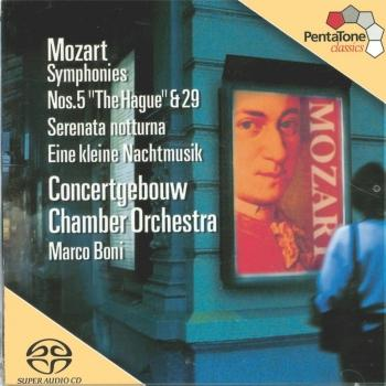 Cover Mozart Symphonies Nos. 5 and 29 / Serenades Nos. 6 and 13