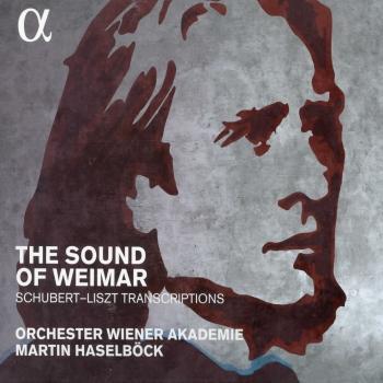 Cover The Sound of Weimar: Schubert-Liszt Transcriptions