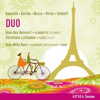 Cover DUO: Koechlin / Schmitt / Rivier / Cartan / Bozza