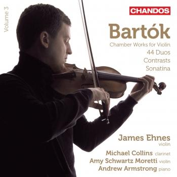 Cover Bartók: Chamber Works for Violin