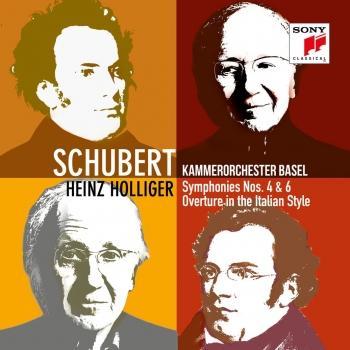 Cover Schubert: Symphonies Nos. 4 & 6